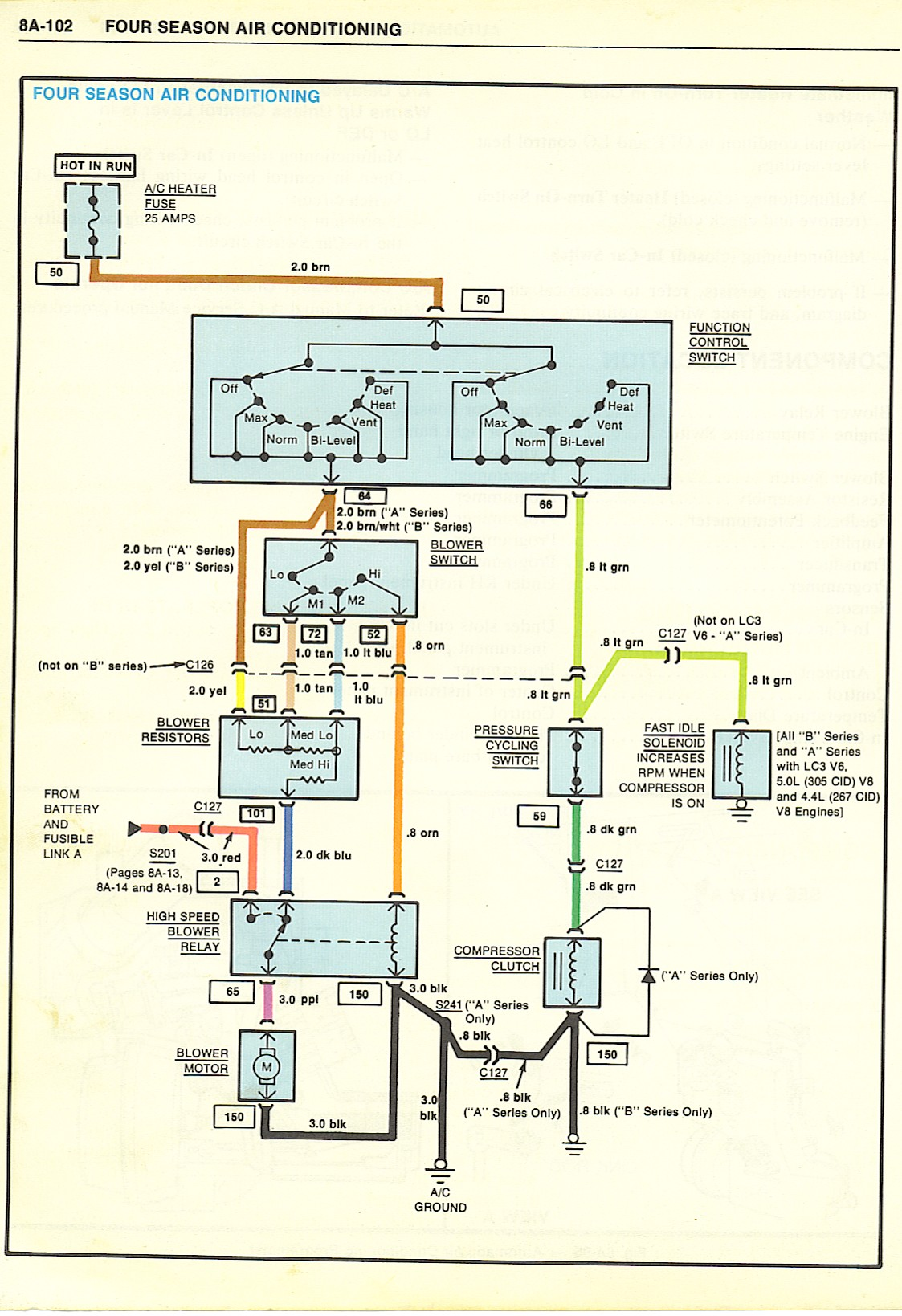 FourSeasonAirConditioner wiring diagrams Single Phase Compressor Wiring Schematics at creativeand.co