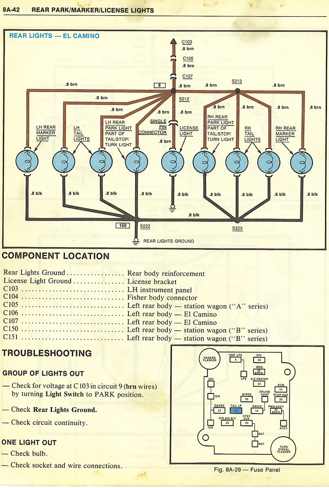 1984 El Camino Wiring Diagram Starting Know About 1969 Steering Column Schematic Diagrams Rh Maliburacing Com Engine