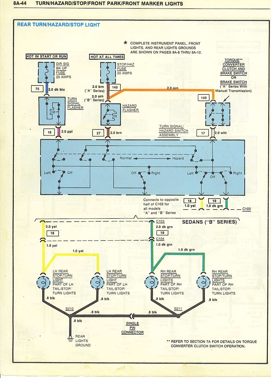 Wiring Diagrams Headlight Control Switch Wire Diagram